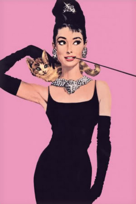 classic icon Audrey Hepburn - hot Halloween costume for women
