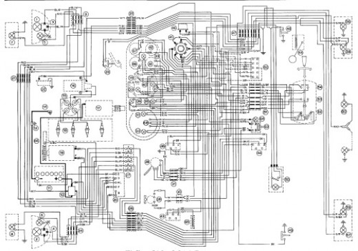 Magneti Marelli L8 Engine Managements Wiring Diagram Ford Cosworth