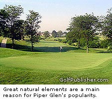 A view of Piper Glen in Springfield. Picture courtesy of www.golfillinois.com