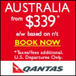 save with Quantas & earn points!