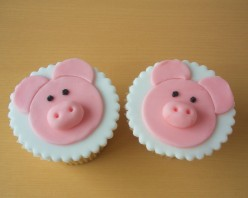 How to Make Pig Cupcakes - Cupcake Decorating Ideas