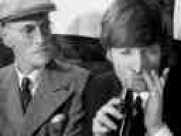 "The company was shocked to see John Lennon ""snorting"" a coke!  They had been trying to escape this image for 100 years!!"