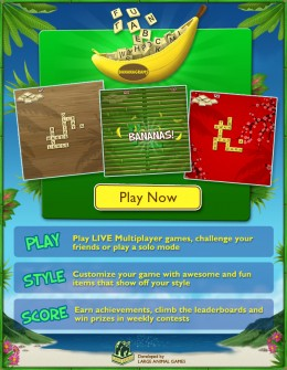 Play Bananagrams Online and Go Bananas!