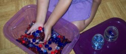 Science for kids: sensory bins