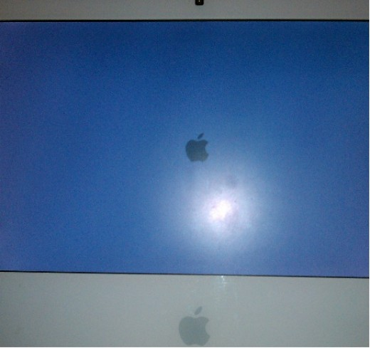 Apple froze on this screen.