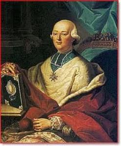 Cardinal De Rohan. His foolish vanity made him the perfect dupe.
