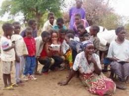 People in rural Kalomo.