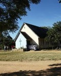 One of the oldest church buildings in Kalomo - it is/was Anglican. The  school where our congregation used to meet is immediately behind this building.