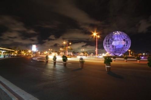The famous MOA globe.