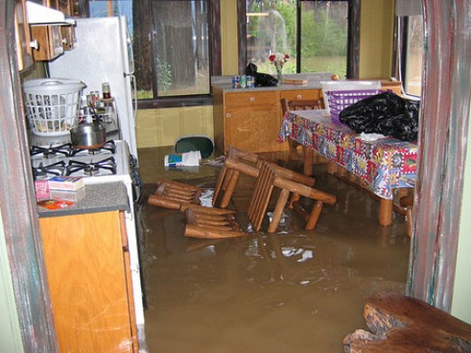 Home water damage can be a home owners worst nightmare.