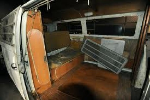 Inside of Van