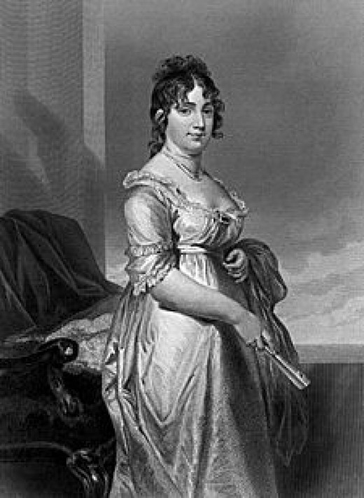 Dolley Madison    Photo courtesy of Wikipedia