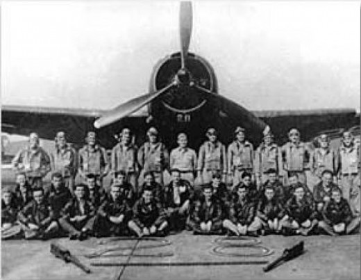 Torpedo bomber 28, shown here, but not with the crew that disappeared on that fateful day on December 5th 1945