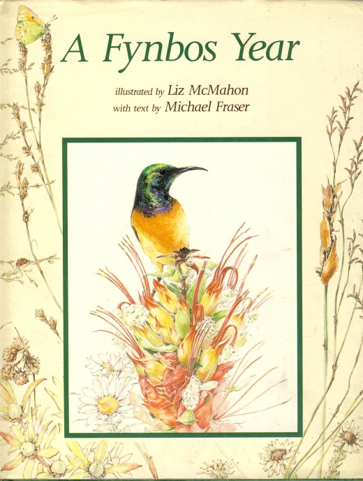 "Cover of ""A Fynbos Year"" by Liz McMahon and Michael Fraser"