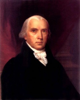 "James Madison has been dubbed the ""Father of the Constitution"" because of his Virginia Plan and because of his detailed notes he took at the Constitutional Convention."