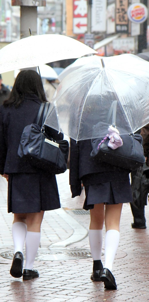 A waterproof school bag is essential for the rainy Japanese climate