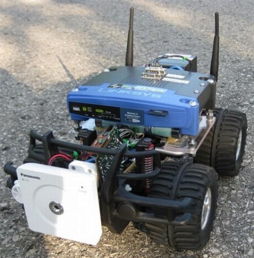 WiFi Operated robo car