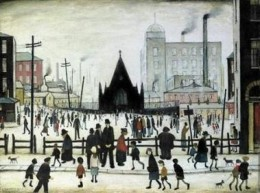 LS Lowry - An Old Church 1943