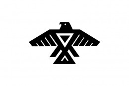 Symbol of the Ojibwe and related peoples in the western region of Eastern Woodland Indians.