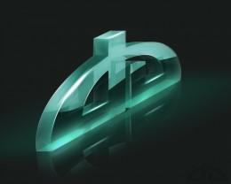 DeviantArt Logo 3D by =Axertion