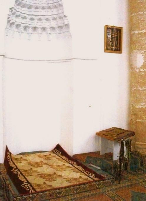 Inside Lala Mustafa Pasa Mosque