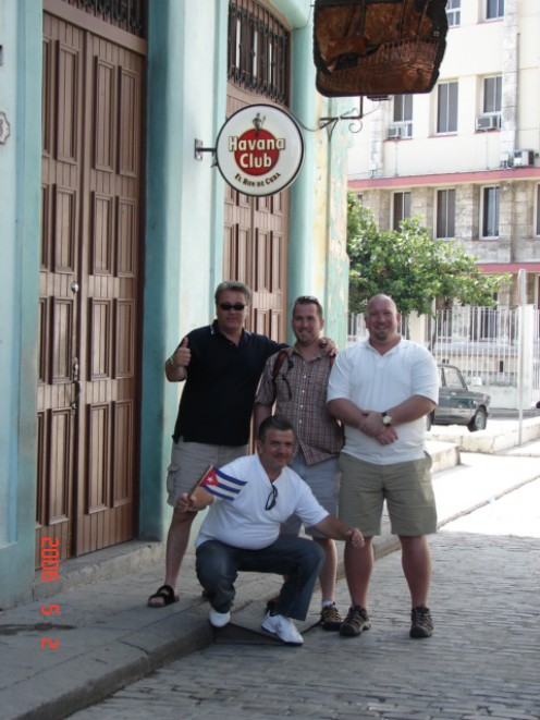 The Havana Club in Old Havana