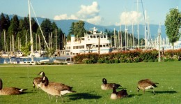 We boarded the ship for our daytrip to Squamish (another hub) right at the marina in front of our hotel