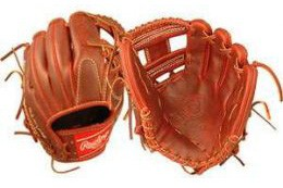 The very expensive Rawlings Primo baseball glove.