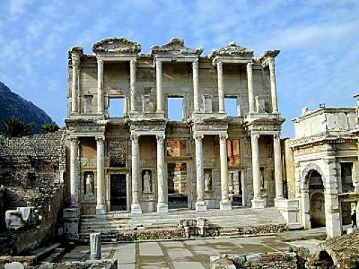 Ephesus, from bibleplaces.com