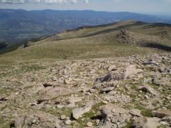 Looking back at Granite Pass (el. 12,100').