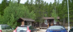 Longs Peak Ranger Station. The beginning and end of the long climb.