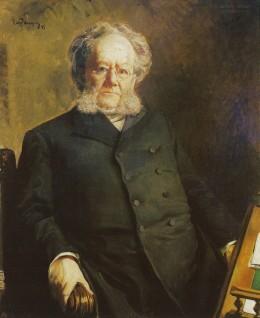 Henrik Ibsen b.1828  d.1906 commons.wikimedia.org