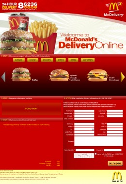 McDonald's Online Delivery Philippines
