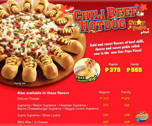 Pizza Hut Online Delivery Philippines Menu