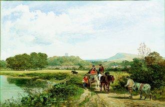 by James Peel, Victorian landscape artist