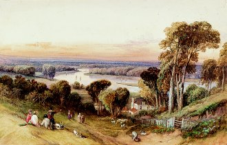 by Clarkson Stanfield, Victorian landscape artist