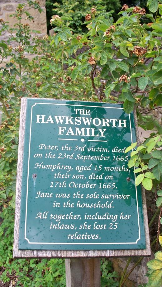 Halksworth Family Memorial Sign