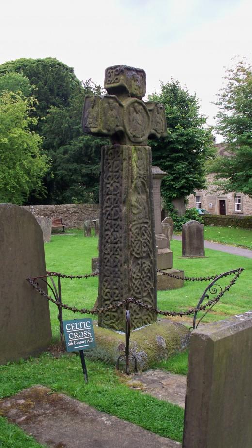 Eyam Celtic Cross