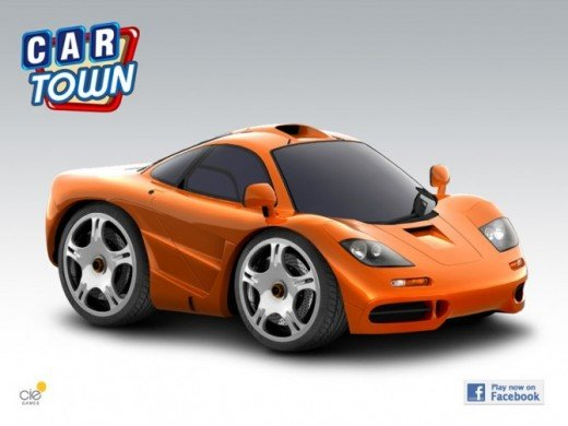 Car Town For Facebook Custom Decals And Templates