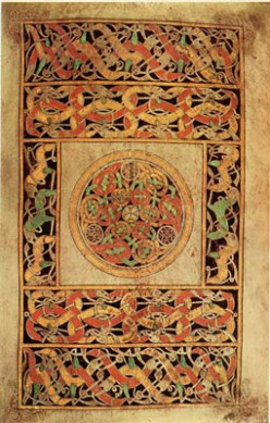 Hiberno-Saxon Art in a Nutshell