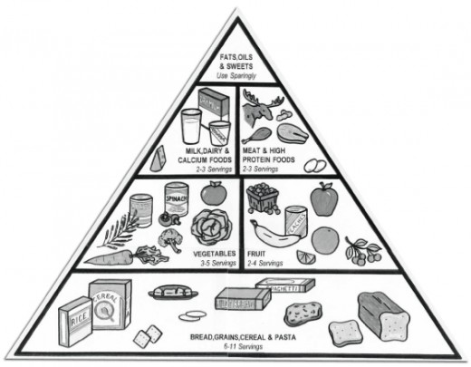 Wanna know how to lose 10 pounds in a week? Start with following the food pyramid for optimal nutrition.