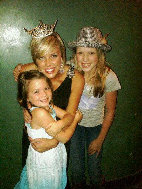 Ali, Christina, and their Adorable Niece