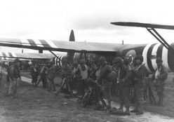 The Airborne attack on D-Day, Normandy, 6th June 1944