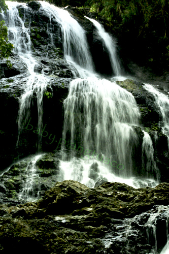 waterfalls using slow shutter speed