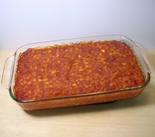Vegetarian Baked Beans - photo by musicpb on flickr.  The recipe for these beans is also available on flickr.