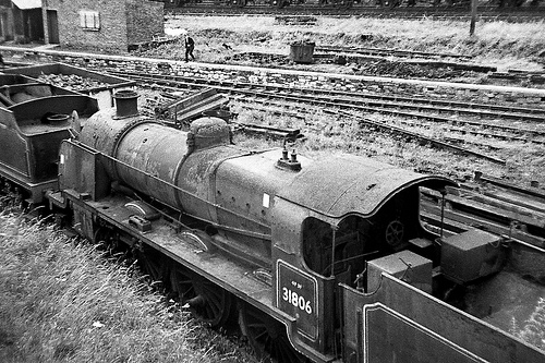 The magnificent age of steam engines is gone, replaced by diesel and thankfully, electric trains.