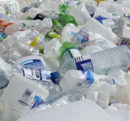 Plastic bottles. Next to bags, these must be the most widely used plastic packaging
