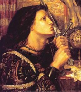 Joan of Arc by Dante Gabriel Rossetti