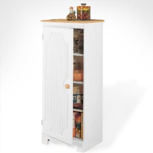 Pantry Storage Cabinet - White
