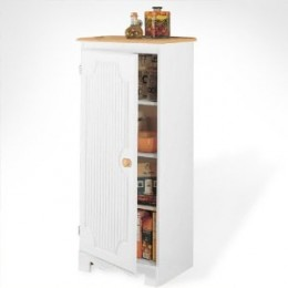 Pantry Storage Cabinet - White